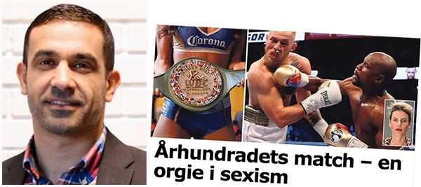 Simon Vis Jamegar: Även svensk boxning har präglats av en machokultur.Men vi har bestämt oss för att ändra på detta.