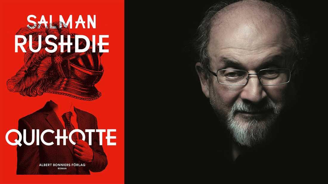 Salman Rushdie (född 1947) bor numera i USA och riktar i senaste romanen kängor mot många fenomen i det nya hemlandet som skräp-tv, rasism, Trump och fake news.