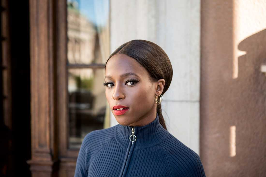 """Sabina Ddumba är en av gästartisterna i """"Allsångsscenen är din"""" som i år leds av Bo Kaspers Orkester. Arkivbild."""
