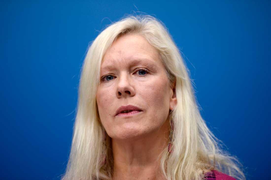 Sveriges förra Kinaambassadör Anna Lindstedt. Arkivbild.