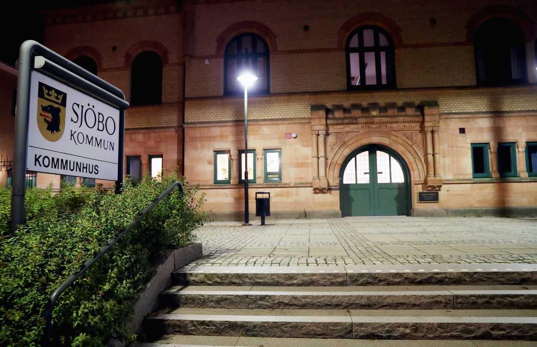 Kommunhuset i Sjöbo.