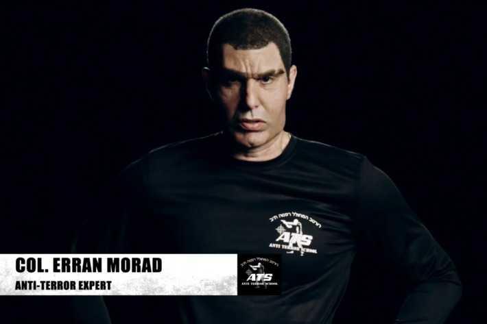 Cohen som den israeliska antiterrorexperten Erran Morad.