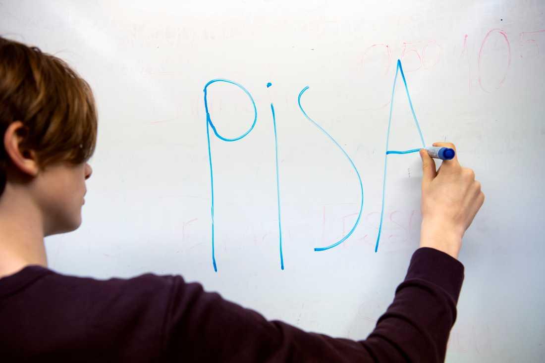 OECD är nu klar med granskningen av det svenska urvalet i Pisa-mätningen 2018. Arkivbild.