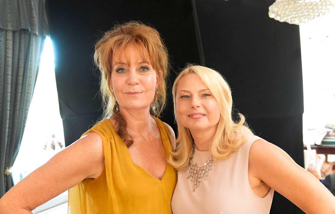 Maria Lundqvist och Helena Bergström.