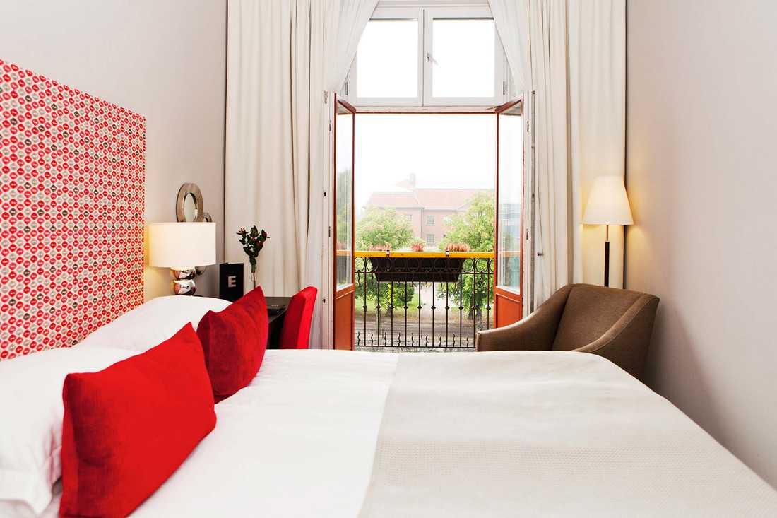 I Gävle hittar vi Elite Grand Hotel som för tankarna till Paris.