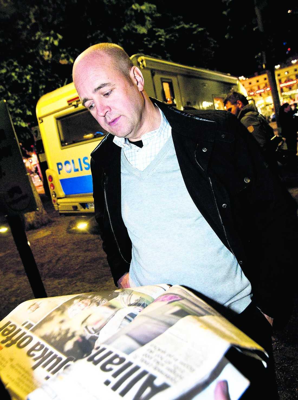 """svarar på kritiken """"Det finns säkert exempel på att det här har gjorts på ett felaktigt sätt"""", säger statsminister Fredrik Reinfeldt (M) när han konfronteras med de utförsäkrades berättelser i Aftonbladet."""