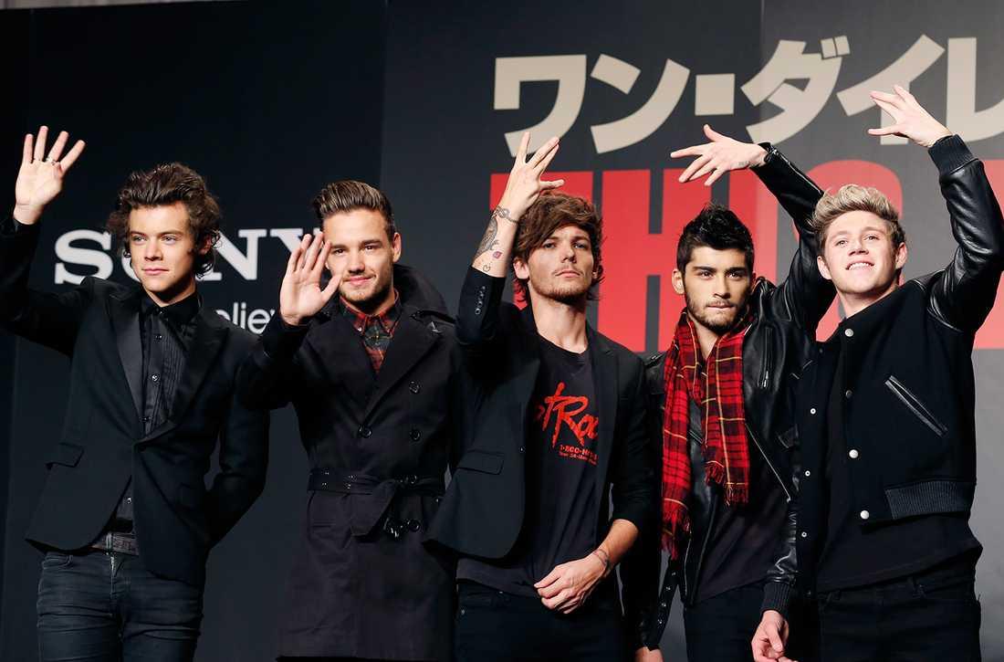 One Direction med Zayn Malik.