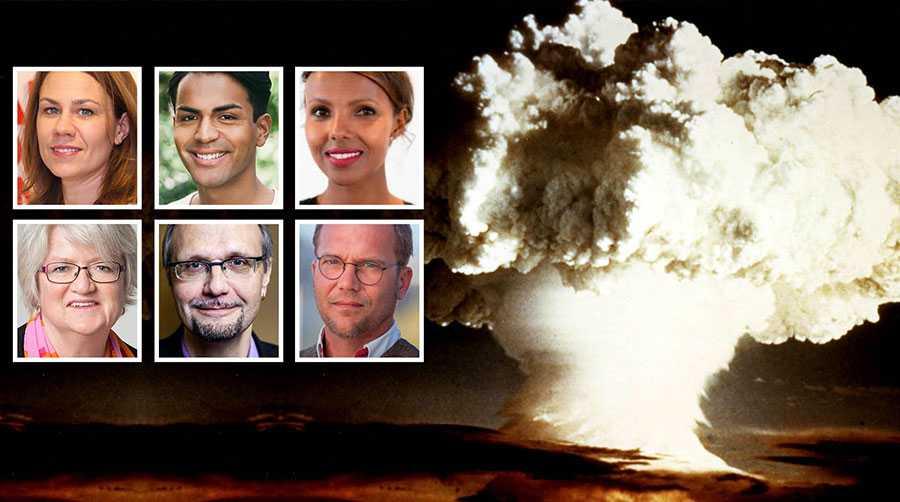 Att inte skriva under konventionen mot kärnvapen skulle innebära att bryta med svensk linje och tradition. Det skulle ses på med förvåning av omvärlden, skriver Anna Sundström, Philip Botström, Nasra Ali, Carina Ohlsson, Ulf Bjereld och Sören Juvas.