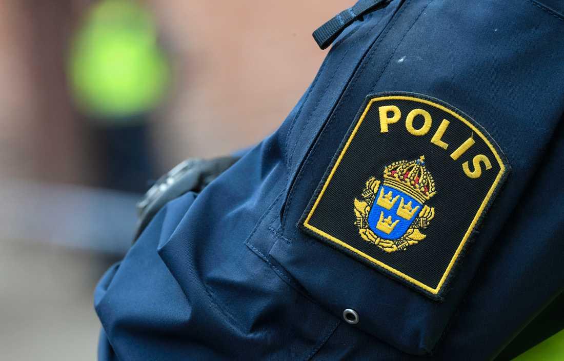 Den 50-årige mannen uppgav att han var civilpolis när han stoppade en bilist i Arlöv utanför Malmö. Någon polis var han dock inte och nu fälls han för brottet föregivande av allmän ställning. Arkivbild.