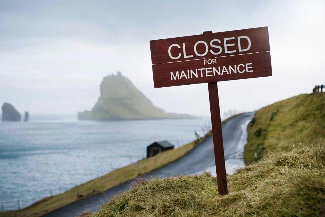 En hel helg ska ögruppen stänga för besökare.
