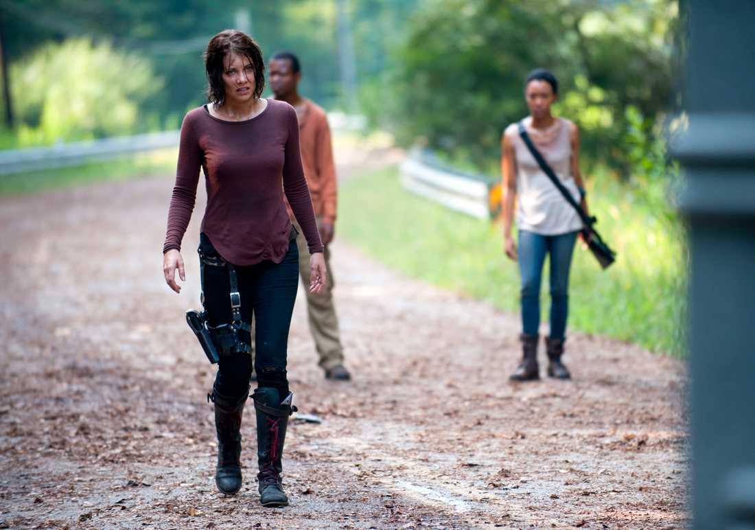 """Lauren Cohan i """"The walking dead""""."""