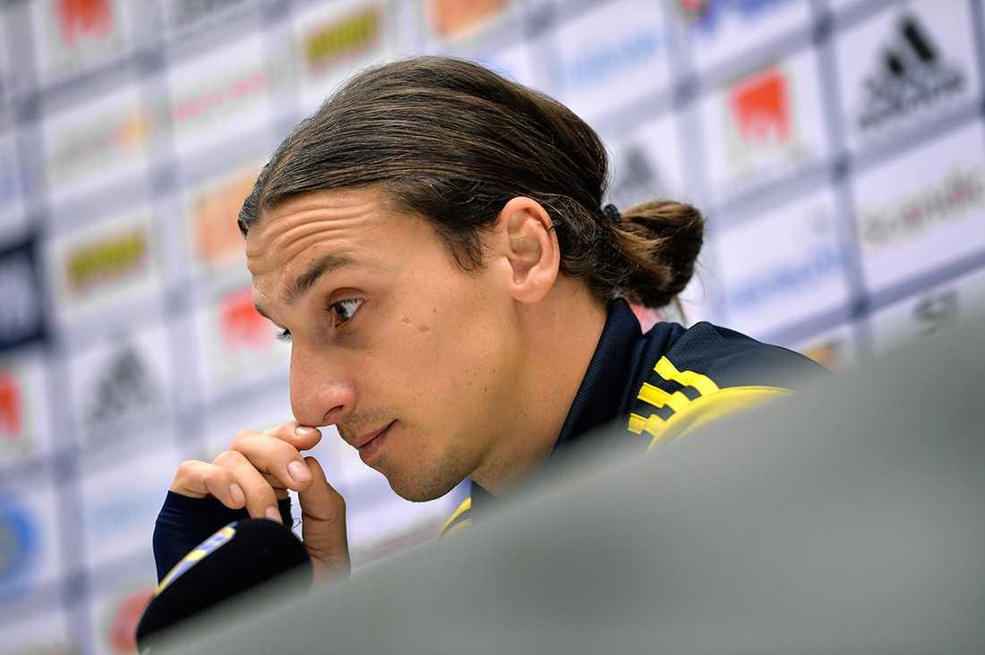 Zlatan Ibrahimovic. Foto: Anders Wiklund/TT.