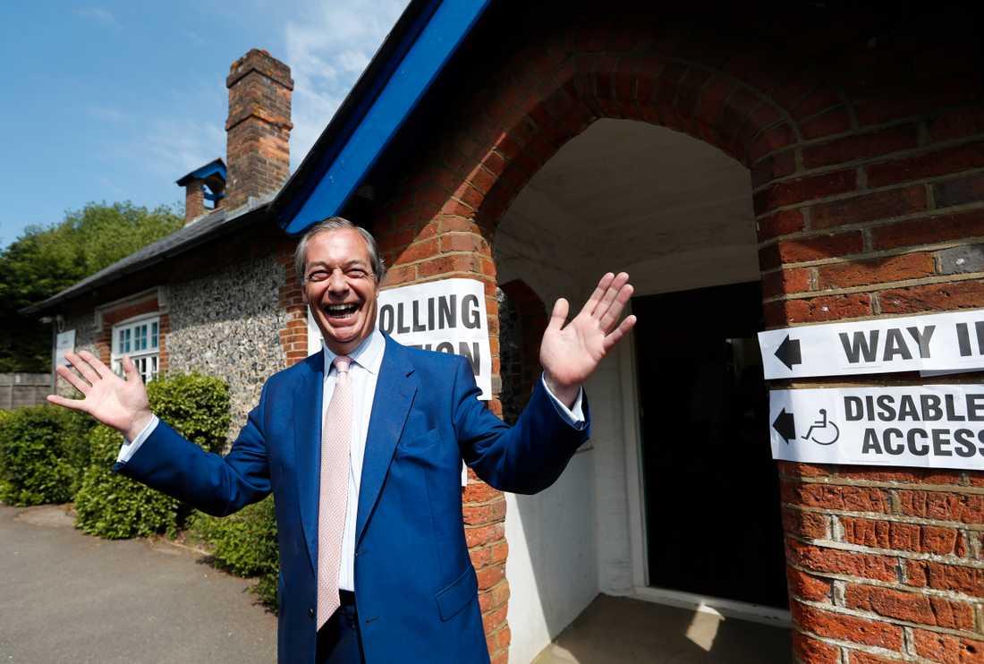 Nigel Farage. Arkivbild.