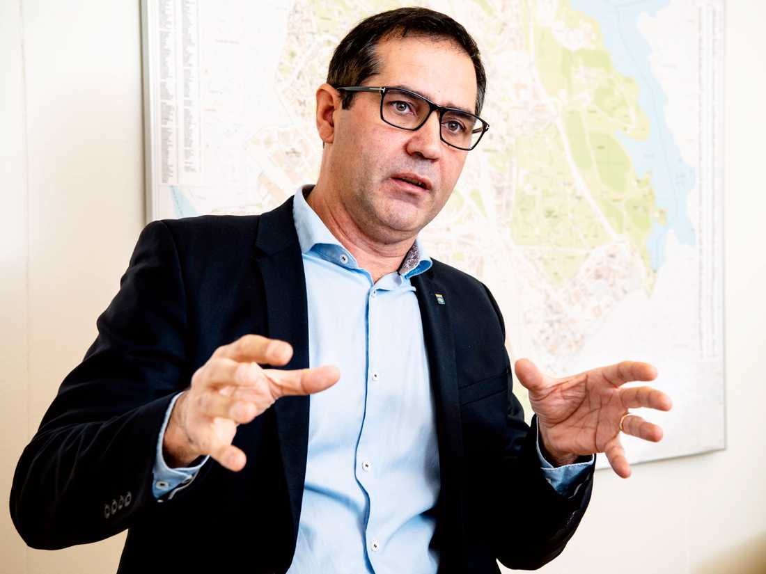 Kommunalrådet Arion Chryssafis  (M).
