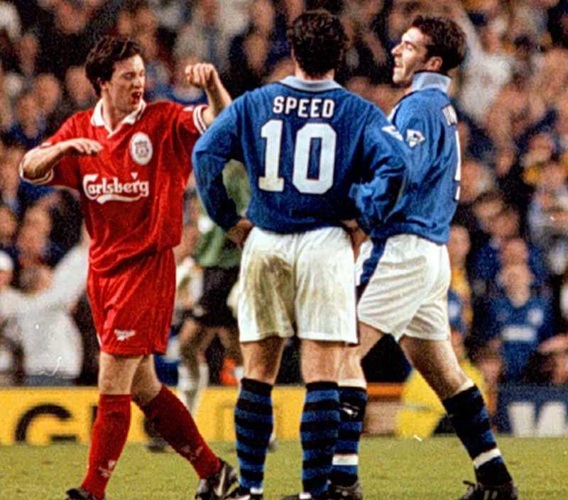 Speed följer ett bråk mellan Robbie Fowler och en lagkamrat i Everton 1997.