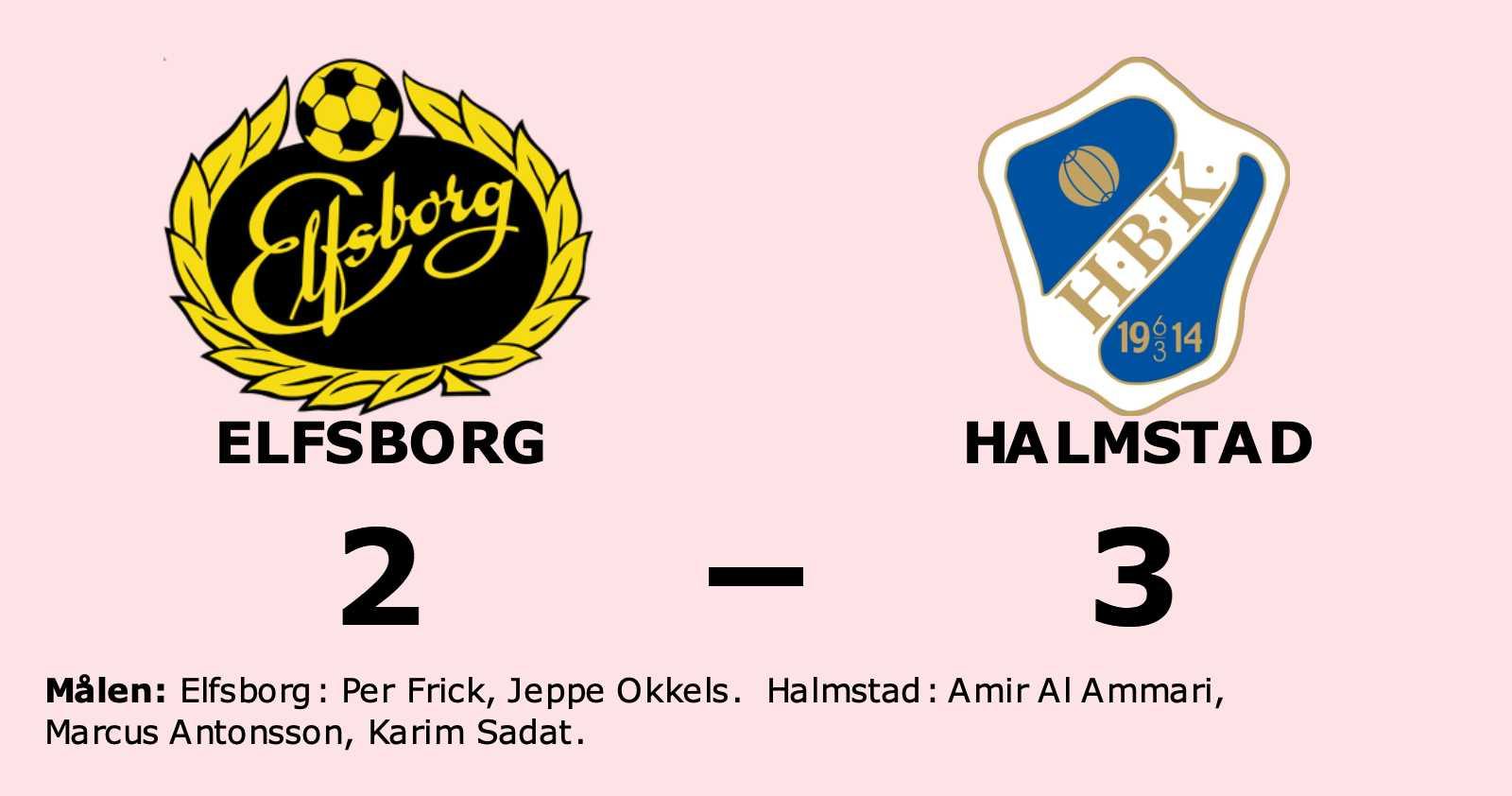 Halmstad äntligen segrare igen efter vinst mot Elfsborg
