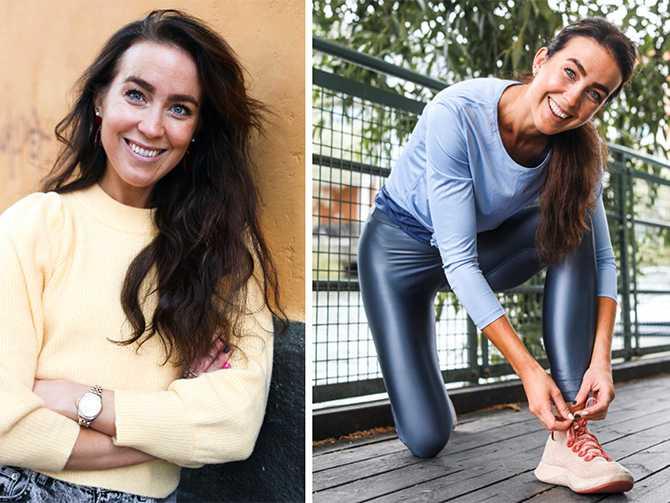 """""""Det blir svårt att få till en hållbar kost- och träningsrutin om man bara utgår från prestation"""", säger Sofia Ståhl."""