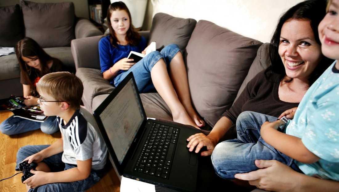 Jessica hinner med både bloggande, jobb och familj.