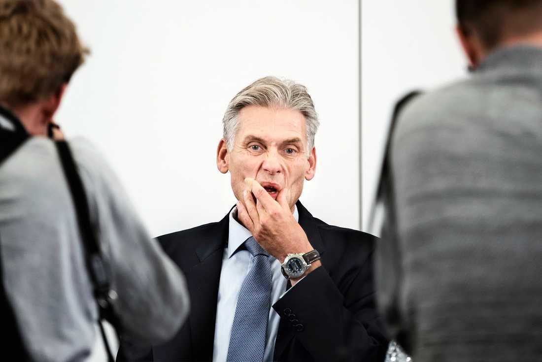 Danske Banks vd ThomasF Borgen fick i höstas avgå på grund av penningtvättskandalen. Arkivbild.