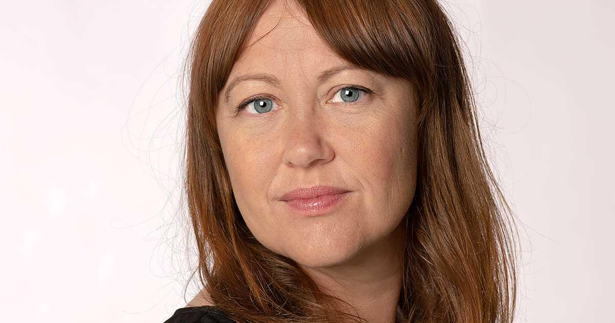 Författaren, journalisten och kriminologen Kicki Sehlstedt, 45.