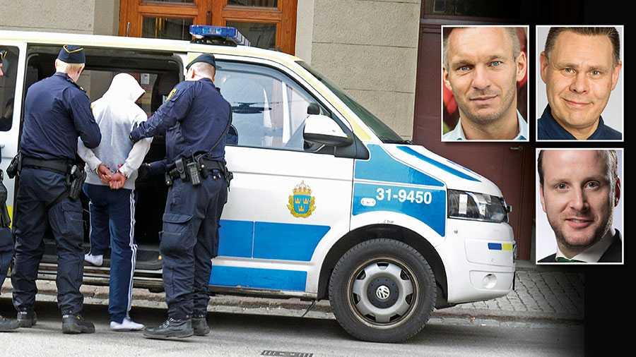 Att bli rånad eller grovt misshandlad och se gärningsmannen gripas av polis, för att lite senare påträffa samma gärningsman väntande utanför den egna porten är orimligt. Det är dock den verklighet som råder i dagens Sverige, skriver Erik Slottner, Fredrik Wallén och Christian Carlsson.