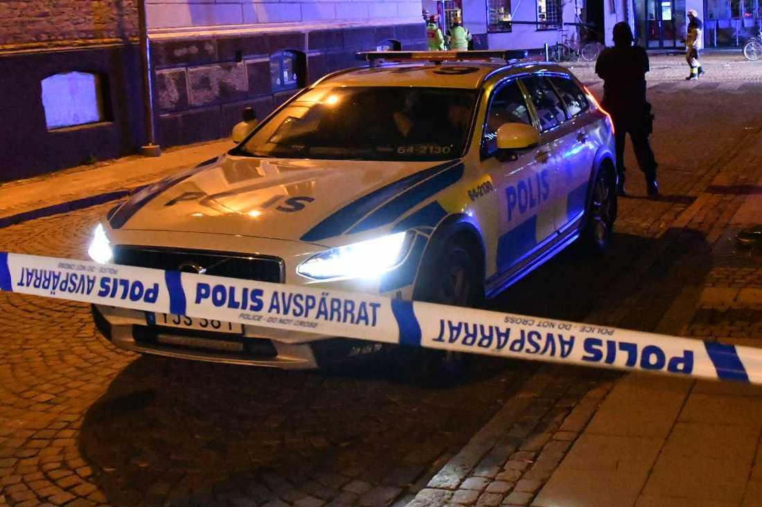 Explosionen inträffade på Stora Södergatan i Lund.