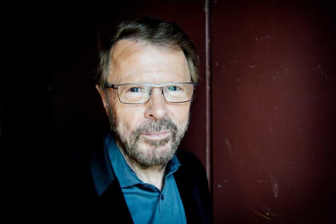 Björn Ulvaeus dricker inte längre alkohol.