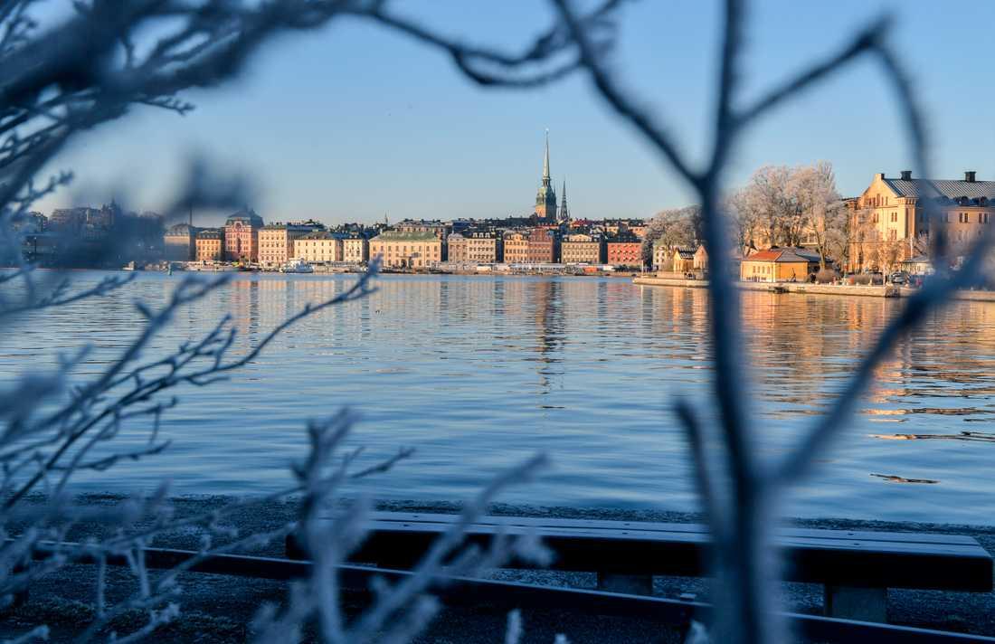 Stockholm ligger i topp bland barnfamiljer som reser med SJ under sportlovsveckorna. Arkivbild.