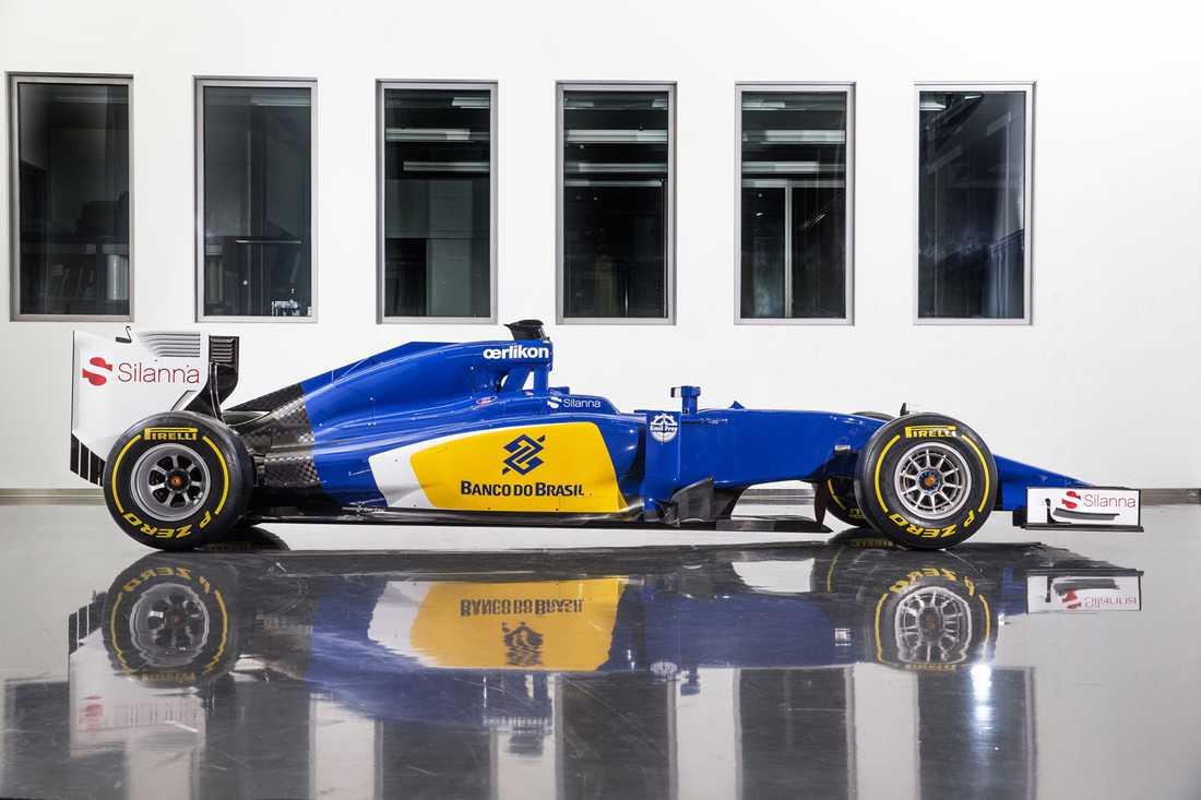 Marcus Ericssons Sauber C34.