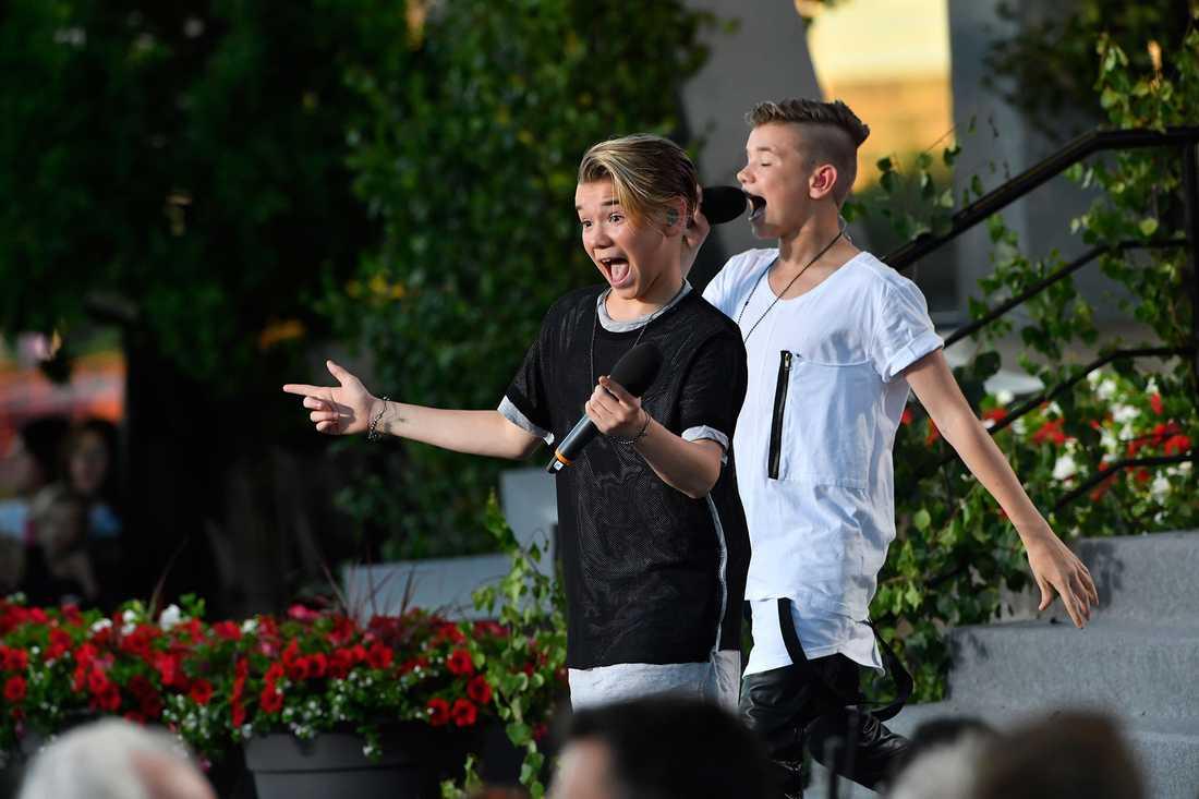 Marcus & Martinus på Skansen.
