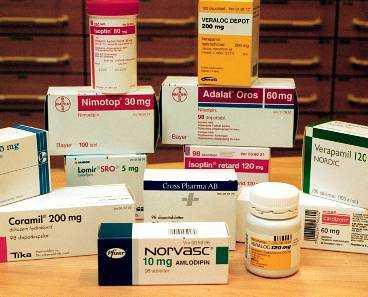 medicin för högt blodtryck