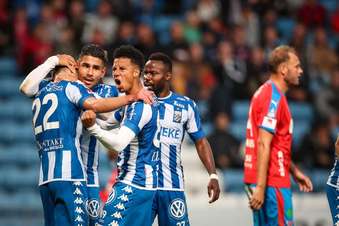 Förra säsongen värvades både Tobias Sana och Hosam Aiesh till IFK Göteborg under sommaren. I år kan det bli svalare aktivitet. Arkivbild.