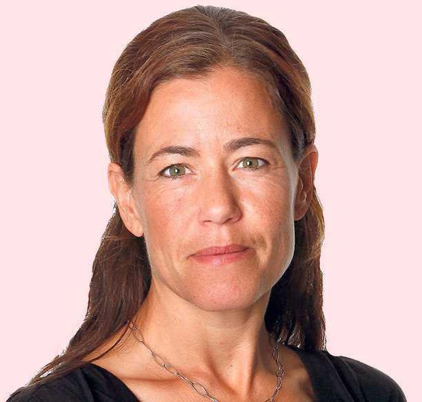 Sportbladets Petra Thorén.