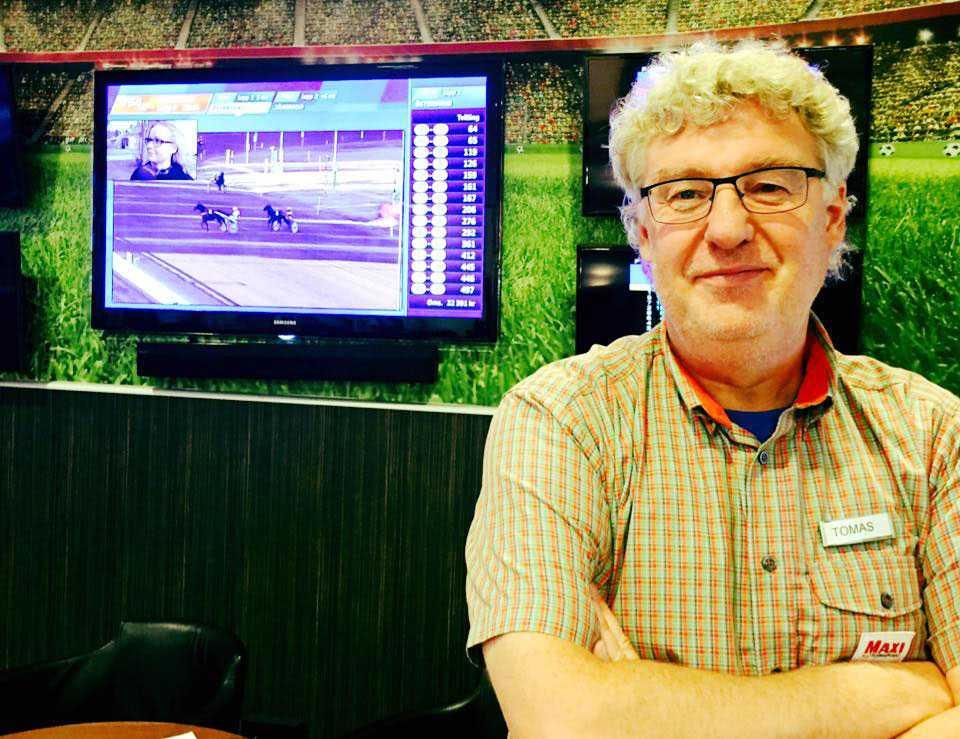 Tomas Holmström hos ICA Maxi Stormarknad i Visby.