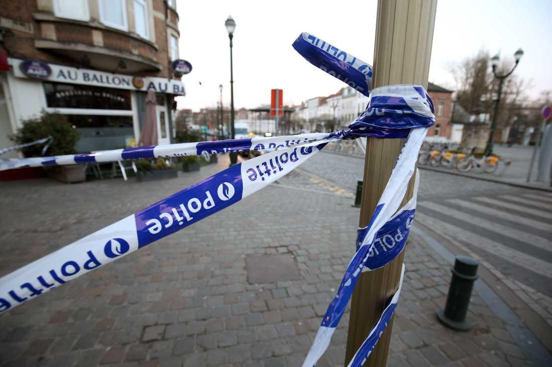 Två personer har gripits i samband med polisinsatsen i Belgien.