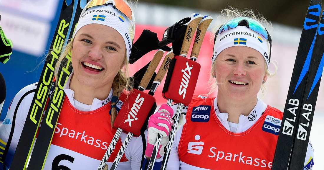Linn Svahn vann i går – och i dag.