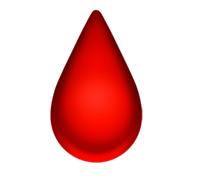 Ny emoji i form av bloddorppe.