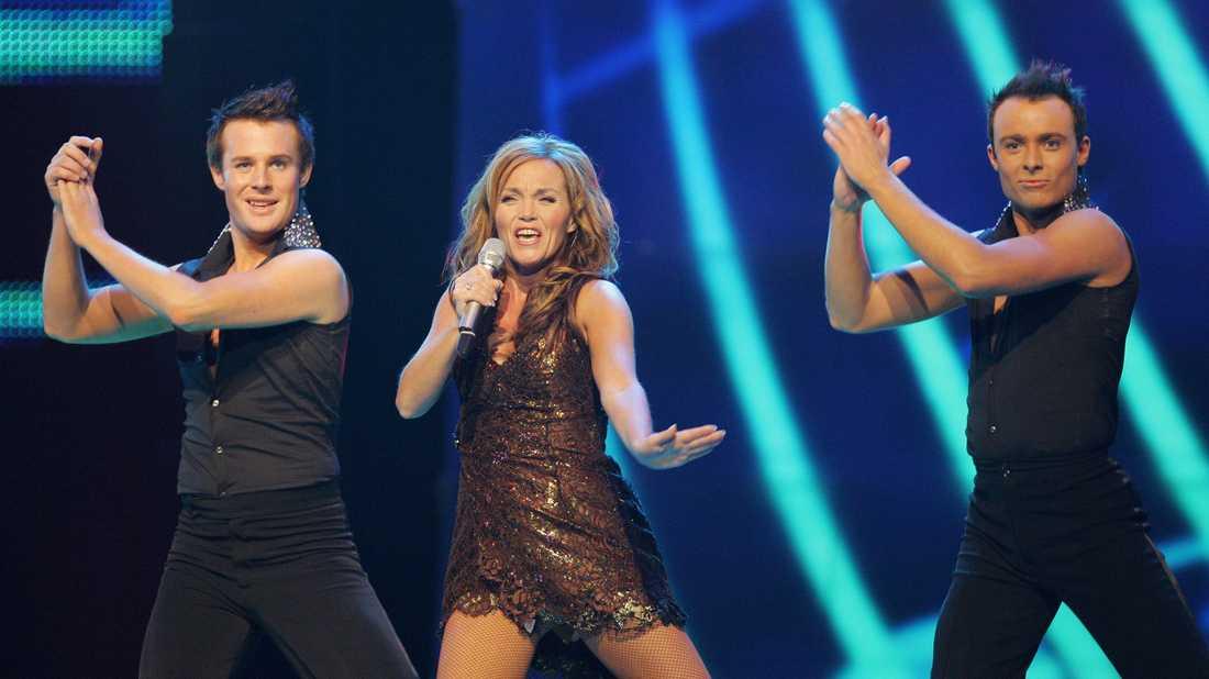 Guri Schanke i Eurovision 2007.
