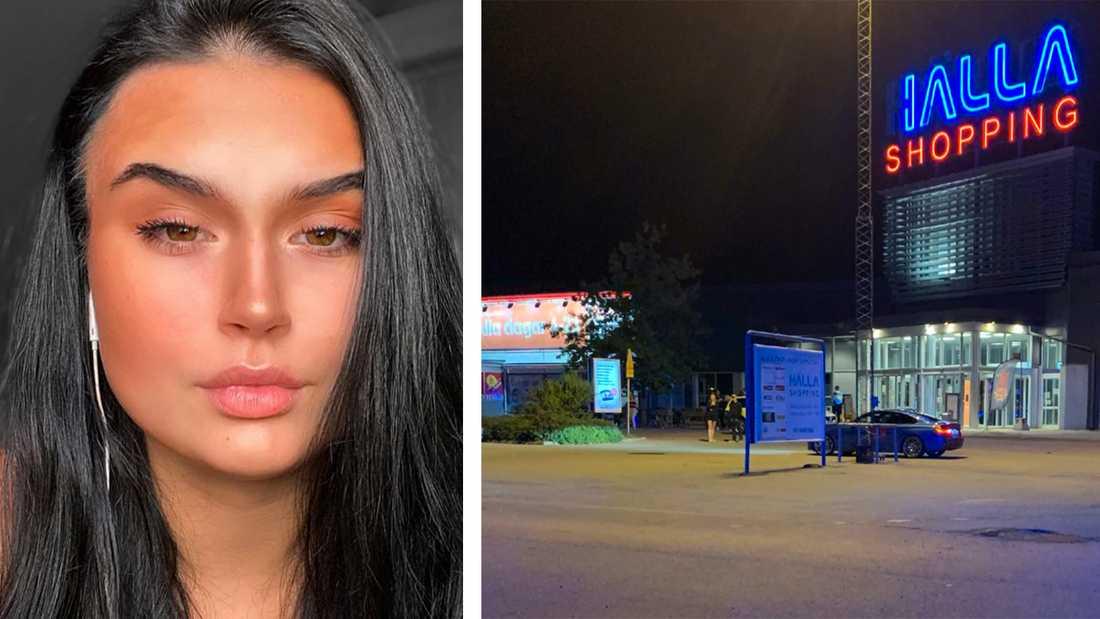 Elina Westman blev inte bara vittne till knivdådet. Hon följde efter knivmannen, slog larm och såg till att polisen kunde gripa gärningsmannen.