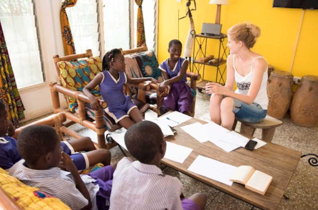 En stor del av arbetet på skolan Nima går ut på att lära barnen att de själva kan påverka sin situation.