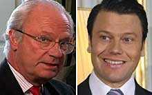 Kung Carl Gustaf ställde ett krav på Daniel: Sluta jobba med gymmen. Daniel Westling gick med på kravet.