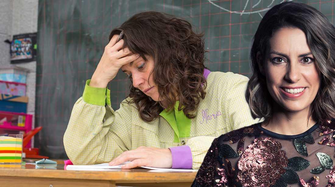 Nina Campioni skriver om föräldrarna som går på lärarna.