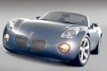 Förebilden. Den nya sportsaaben ska baseras på Kappa-plattan, samma som systern Pontiac Solstice. Premiär för Saab Sonett blir på Genève-mässan i vår.