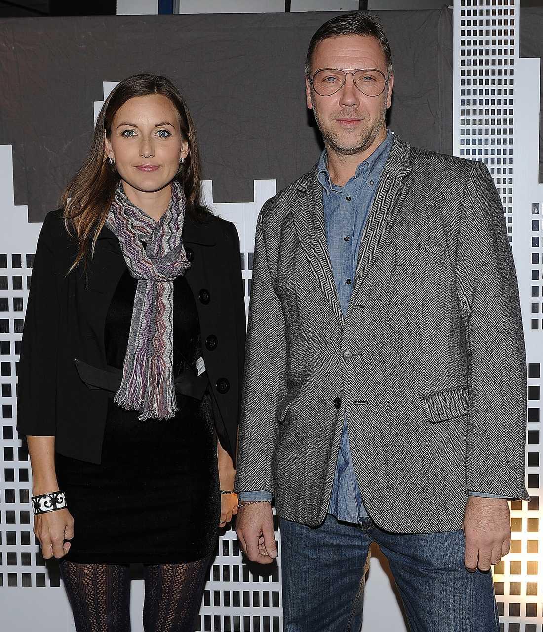 SLITSAMT Sanna Lundell skriver att hon och Mikael Persbrandt har bråkat ohälsosamt mycket.