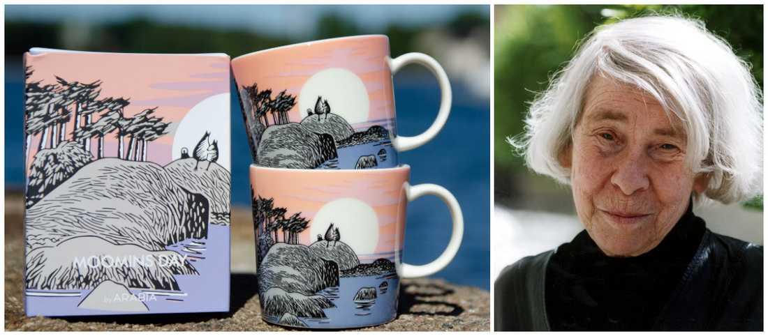 Tove Janssons grundade mumin nu säljs senaste muminmuggen för tusentals kronor.