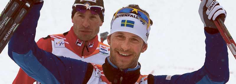 """Anders Södergren var överlycklig att hans hårdkörning gav utdelning. """"Skönt att få betalt för att ligga och köra"""", säger han."""