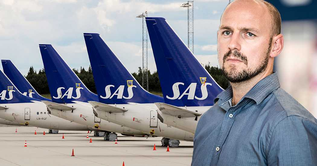"""Pilotbrist orsakar inställda SAS-flyg: """"Har inte den styrka vi behöver"""""""
