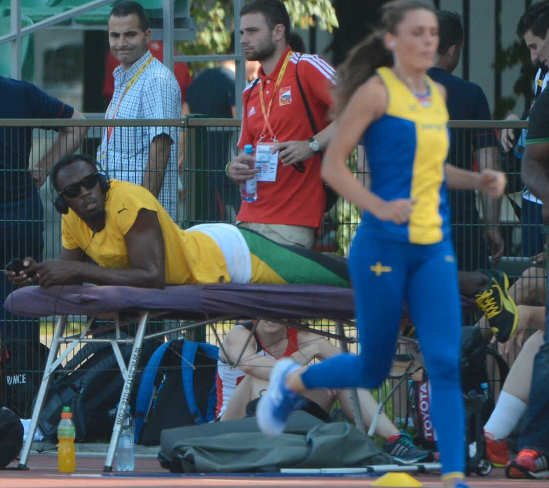 Bolt spanar in Jarder.