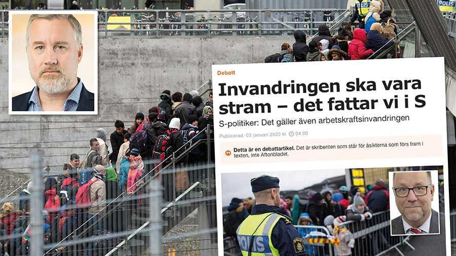 Svensk invandringspolitik behöver reformeras. Men till skillnad från S säger vi inte bara att det måste göras, utan även hur det skall göras, skriver Jonas Andersson från Sverigedemokraterna.
