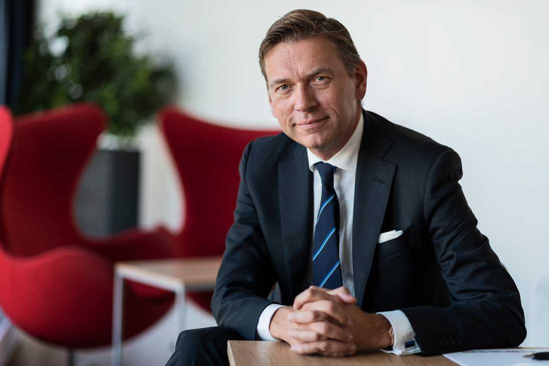 Raoul Grünthal, vd för Schibsted Media